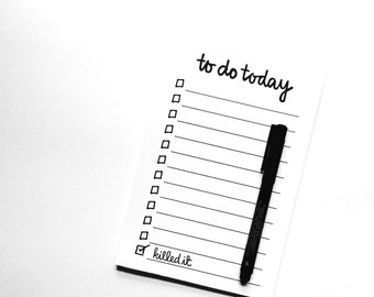 NOTEPAD: daily to do list  [I've got it together' series] Recycled Notepad, Daily To-Do Notepad, Organized Living