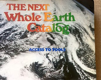 The Next Whole Earth Catalogue - Stewart Brand 1981 Edition - Agriculture Environmental Awareness Farming Global Responsibility