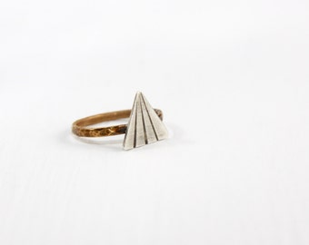 Triangle Ring * Diamond Shape Ring * Minimalist Ring * Skinny Ring * Little Rings * Geometric Ring * Minimalistic Ring * Geometric Jewelry