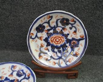 English Imari Dish