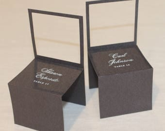 Chair Seating/Escort Cards