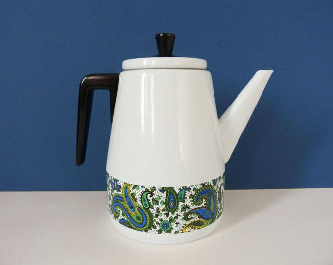Enamel coffee pot Vintage
