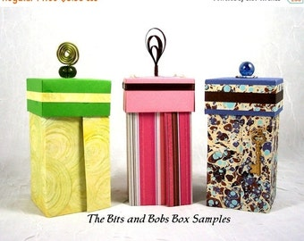 Holiday SALE Instructions How to Make The Bits and Bobs Box PDF Tutorial