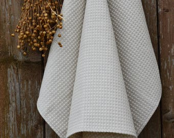 Spa towel wrap, linen waffle towel, waffle towel, sauna accessories, cotton towel, white towels, linen bath towel, bathroom towels
