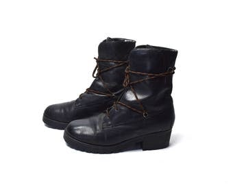 Lacer Ankle Boots by Zodiac, Size 9 1/2, Lace Up Ankle Boots