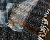 Will the rug company striped woven throw