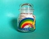 Peanuts Snoopy Goodies Glass Jar 1965
