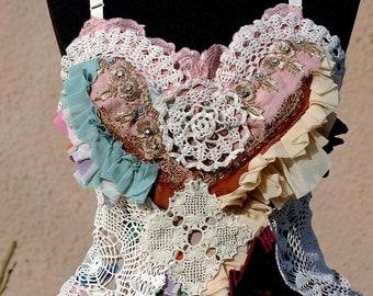 Dress, wedding dress, bridal, alternative wedding, vintage style, fairie, victorian, vintage, burlesque,ballerina,doll dress,upcycled dress