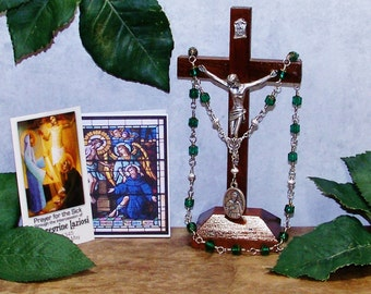 Unbreakable Traditional Catholic Chaplet of St. Peregrine Laziosi - Patron Saint of Cancer Patients and the Seriously Ill