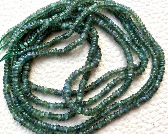 Wow, 6 Inch,Super Rare RAREST Natural ALEXANDRITE Faceted Rondells, 3-2mm Size,ONLY at My Shop