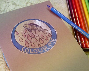 Colouring Book - Fishes