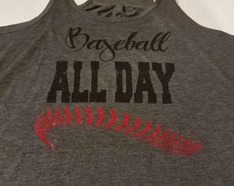 Baseball All Day Shirt, Baseball All Day Everyday Shirt, Baseball Shirt, Baseball Mom Shirt, Baseball Shirt, Baseball, Softball All Day Tee