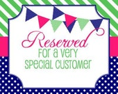 Reserved for a client, custom order-please do not buy