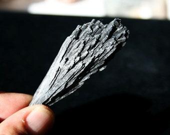 Black Kyanite Crystal Fan Specimen