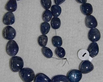 Tanzanite, Tanzanite Bead, Graduated Beads, Semi Precious, Gemstone, Tanzanite Strand, Blue-Purple, Full Strand, 12-18 mm, AdrianasBeads