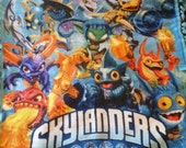 Skylanders Fleece Tie Blanket