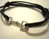Small Bit - Wrap Bracelet - Equestrian - Horses - Gift for Women - Cowgirl - Unique