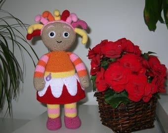 Upsy Daisy - PDF crochet pattern