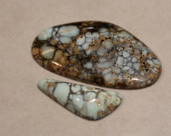 U - Pick 7 Dwarfs Turquoise Cabochon Brand new from Nevada - Amazingly beautiful turquoise /variscite - Collector Cabochon