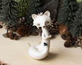Arctic Fox Queen Figurine by Bonjour Poupette