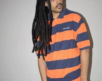 90s Vintage Ralph Lauren Polo Sport Striped T Shirt - 1990s Shirt - 90s Clothing - MV0097