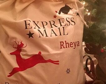 Personalized Santa Bag Santa Sacks with free shipping!