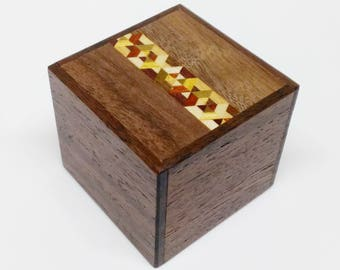 Japanese Puzzle box (Himitsu bako) Kobako 54m (2.1inch) 7 steps