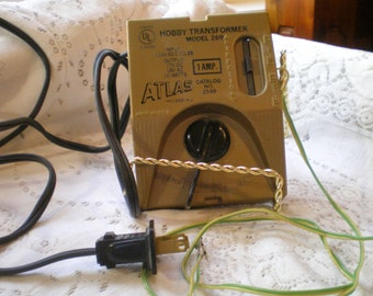Vintage Atlas Hobby Transformer Model 269