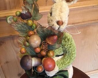 Falbrook: a handmade artist bunny from Jazzbears