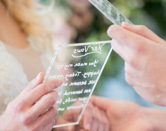 Clear Acrylic Pieces for DIY Wedding or Party Signs, Clear Acrylic Slices, Modern Wedding Calligraphy Sign Choose Your Size (Item - CLR400)