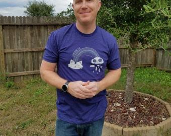 Lightning Cat T-shirt Storm