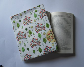 Family tree, tree of life Paper back book cover, book bag, book sleeve, book protector