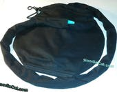 HoodieCat Black Foley Catheter Bag Cover