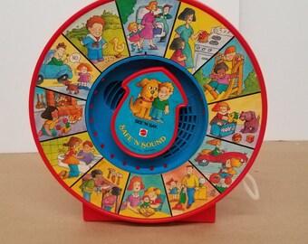 1985 Mattel See N Say Safe N Sound