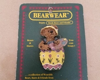 Vintage Boyds Bear Pin