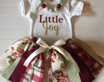 Little Joy Outfit - First Birthday Outfit - Baby Girl Outfit - Newborn Outfit - Little Girl Outfit - Smash Cake Outfit