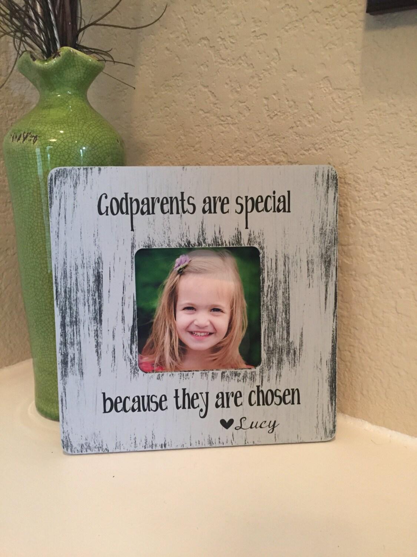 Godmother Wedding Gift: Godparents Frame Gift Godmother Godfather Godparents Gift
