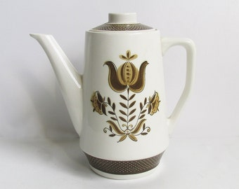 Vintage Dunmore Ironstone Coffee Carafe - Coffee Pot - Tea Pot - Coffee Service