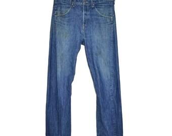 ON SALE Vintage LEVI'S Levis Straight Leg Jeans Size 32x34 Unisex Womens Mens Pants
