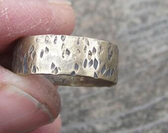 Brass Ring Stacking Ring Size 7 Ring Brass Ring Band