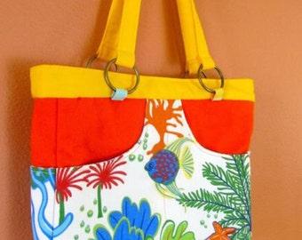Bea #16 Beach Bag, Lake Bag, Travel Bag, Vacation Tote, Seaside, Purse, Purses, Tote,Totes, handbag, Handbags, Shoulder Bag, Women, Gifts