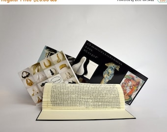 Christmas SALE Foto and card holder - folded Book