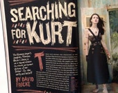 """COBAIN'S Daughter, Frances Bean Cobain, is Interviewed in Rolling  Stone Magazine """"Searching for Cobain"""" -- Collectible Issue!"""