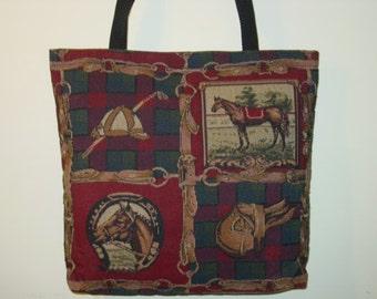 Winner's Circle Hose Tote Purse ,Equestrian Handbags