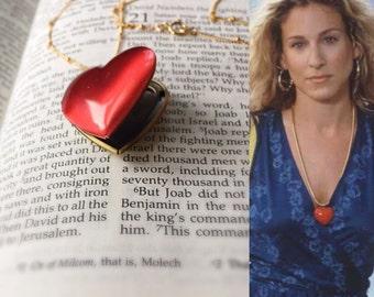 Heart Locket Necklace,Personalized Heart Locket,Initial Locket,Personalized Locket Necklace,Big Heart Charm,Photo Locket,Picture Locket