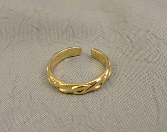 Gold Filled Toe Ring