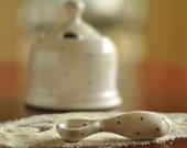 Ceramic Spoon Red Dot