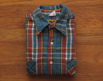 mens vintage Big Mac flannel work shirt
