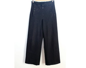 1940s Sailor Pants WW2 US Navy