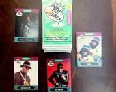 1991 100 Yo! MTV Raps Pro Set Music Hip Hop Fresh Rap Trading Cards Collectibles 10 packs of 10